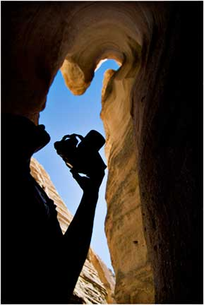 Jamie Baldonado at Tent Rocks